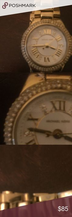 Michael Kors Mini. Camille Watch It is in very good-mint condition. Very pretty watch. No stones missing and very shiny and dazzling. Michael Kors Accessories Watches
