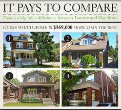 It Pays To Compare: Guess which home is double in price!