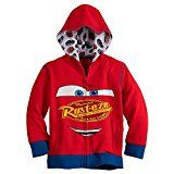 Disney Lightning McQueen Zip Hoodie for Boys  Cars 3 Size 5/6