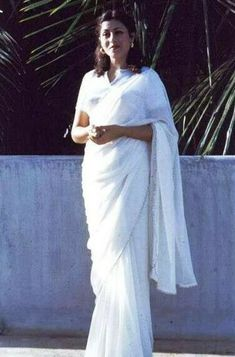 yogaPure White Saree Brand New Soft Cotton One Size Fits All Approx 6 Yards Long White Sari, White Dress, Grace Symbol, Vintage Bollywood, Actress Photos, One Size Fits All, Symbols, Saree, Brand New