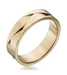 Furrer-Jacot - Les Magiques 18K Yellow Gold 8.0mm Braided Band