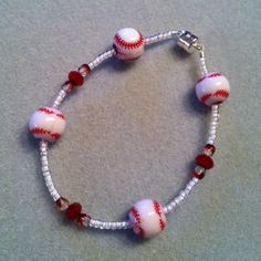 Baseball Bracelet - popespizazz@gmail.com