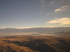 View from the Mano a Mano plane.
