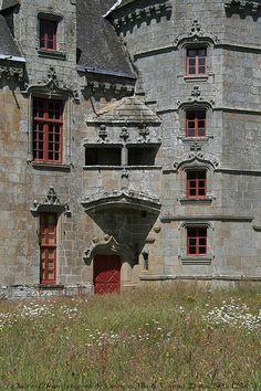 château de Lanrigan, c. 1500, Ille-&-Vilaine, Bretagne
