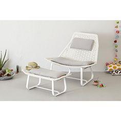 Livin'garden loungestoel + hocker Olivia? Bestel nu bij wehkamp.nl