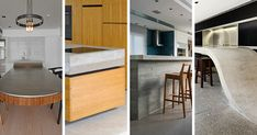 15 Inspirational Examples Of Kitchens With Concrete Countertops