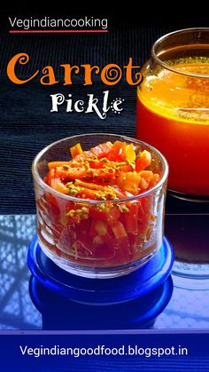 How to make Fresh Carrot Pickle   Indian Super Quick Pickled Carrots   Gajar Ka Achaar    Oil Free Carrot Pickle Recipe     #carrot #pickle #carrotpickle #indianfood #indianrecipes #picklerecipes #winter #indiancuisine #foodblogger #foodblog #yum #delicious #recipe #instantrecipe