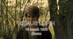 The Marauders birthdays - Remus Lupin gif