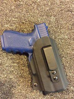 G19 XC1 IWB (1) Iwb Holster, Gun Cases, Tactical Knives, Hand Guns, Innovation, Firearms, Pistols, Tactical Knife, Combat Knives