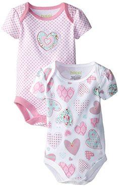 Happi by Dena Baby-Girls Newborn Heart 2 Pack Creeper, Begonia, 6-9 Months Happi by Dena http://www.amazon.com/dp/B00LY432LA/ref=cm_sw_r_pi_dp_MW5Yub19NDY37