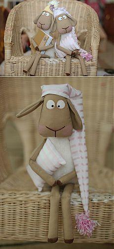 Выкройка коня, по которой можно сшить и забавных овечек / Мир игрушки / Разнообразные игрушки ручной работы