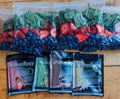 Meal Prep Monday Smoothie Bags