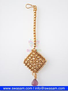 Indian Jewelry Store | Swasam.com: Tikka with Perls and White Stones - Tikka - Jewelry Shop to Buy The Best Indian Jewelry  http://www.swasam.com/jewelry/tikka/tikka-with-perls-and-white-stones-1506.html?___SID=U  #indianjewelry #indian #jewelry #tikka