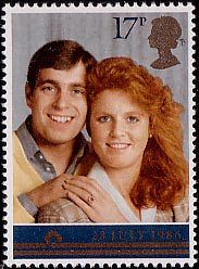 Image result for fergie andrew 1982 stamp