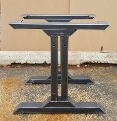 Stylish Dining Table Legs, Model #TUS08, Industrial Kitchen Table Legs