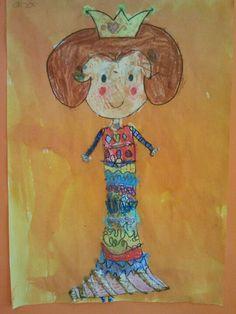 Ontwerp de nieuwe jurk van prinses Beatrix.....