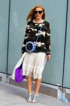 5 Street Style Stars To Spot | theglitterguide.com