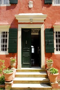 Achillii house rental - Main entrance Corfu Greece, Main Entrance, Venetian, Swimming Pools, Mansions, Outdoor Decor, House, Swiming Pool, Pools