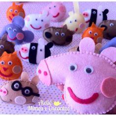 Peppa Pig e seus Amigos.