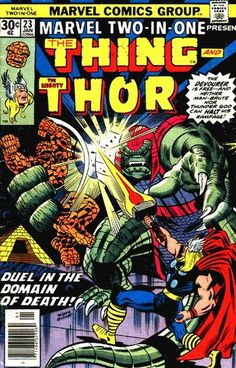 Marvel Two-in-One # 23 by Ron Wilson & Joe Sinnott