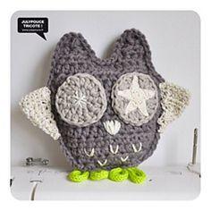 Free Hibou Crochet Pattern by Julypouce at Ralvery