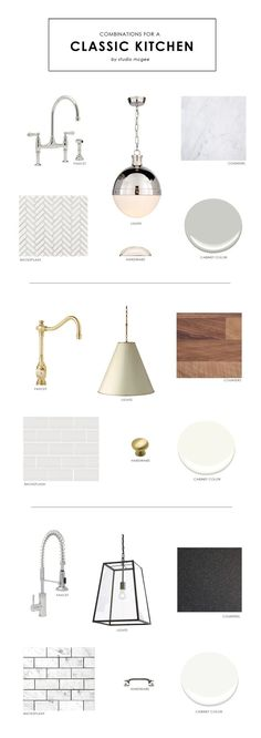 Combinations for a Classic Kitchen