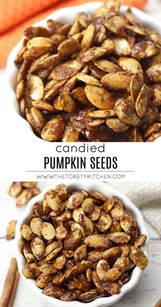 Cinnamon Sugar Pumpkin Seeds, Easy Pumpkin Seeds, Pumkin Seeds, Baking Pumpkin Seeds, Oven Roasted Pumpkin Seeds, Pumpkin Seed Recipes Baked, Baked Pumpkin, Best Pumpkin Seed Recipe, Appetizer Recipes