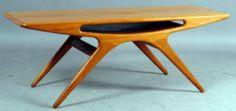 Johannes Andersen Mid Century Modern Table, Mid Century Coffee Table, Coffee Tables, Danish Sofa, Midcentury Modern, Retro, House, Furniture, Vintage