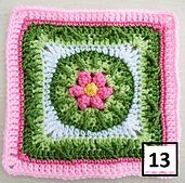 Vannas Choice B.A.W.L. (Block A Week Long) CAL  BAWL Blanket 3 BAWL Blanket 4  Square 1:Promise Petals Square 2:Banjo Music II Square 3. Twisted Garden Square 4: Cassidy's Block Square 5: Bri...