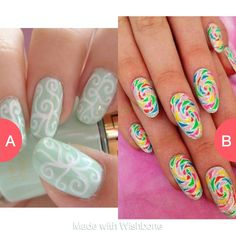 Which nails are cuter
