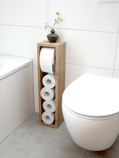 Toilet paper holder, toilet paper rack, toilet paper holder, Klorollen holder Axel is part of Bathroom - Bathroom Toilet Paper Holders, Toilet Paper Stand, Toilet Paper Storage, Toilet Roll Holder, Towel Holder, Bathroom Interior, Modern Bathroom, Small Bathroom, Modern Toilet