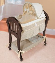 68 Best Wood Bassinet Images In 2018 Cribs Baby Cribs Crib Bedding