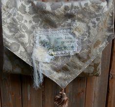 Shabby Chic Handbag Cross Body Shoulder Bag by CrossMyHeartBags, $18.00