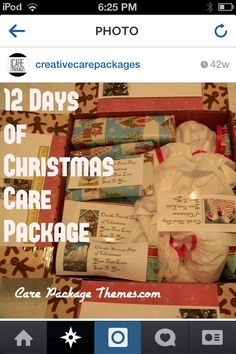 Hey guys! I just found this awesome Instagram site called @creativecarepackages and there are some AWESOME ideas! Go check her out! *there is NO external link*