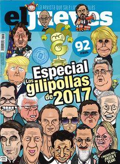 EL JUEVES  nº 3036 (2-8 xaneiro 2018)