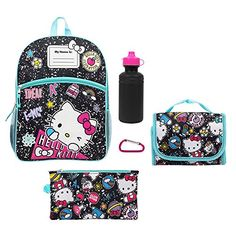 5ffe8d5e11 Kids Hello Kitty 5-pc. Backpack and Lunch Box Set with Pencil Case
