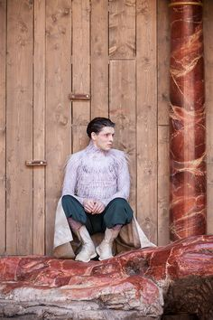 """Colin Morgan in The Globe's production of """"The Tempest""""."""