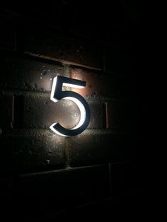 CNC Machines and Laser Cut LED House Numbers/Letters Size: 200mm (8 inch) High Can be made in Any Size and Any Font We are proud to introduce