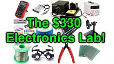 Liked on YouTube: EEVblog #954 - How To Setup An Electronics Lab For $300