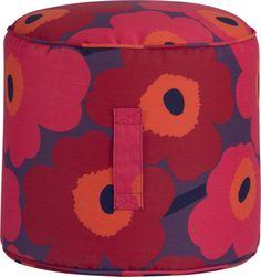 i kind of like this Marimekko Pieni Unikko II Outdoor Bean Bag    Crate and Barrel