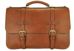 English Briefcase from Frank Clegg Leatherworks