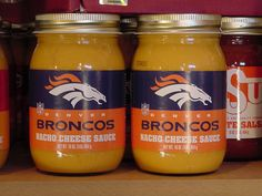 Denver Broncos Nacho Cheese Sauce