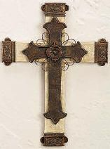 Crosses and Crucifixes - my favorite place to get them is Hobby Lobby!
