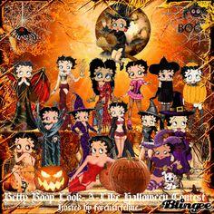 Betty Boop Look-a-Like Halloween Contest