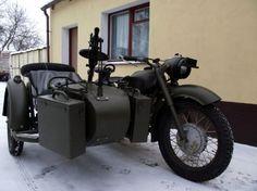 Отреставрированный мотоцикл Урал МВ-750 1963