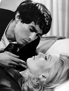 """Catherine Deneuve and Pierre Clémenti in """"Belle de Jour"""""""