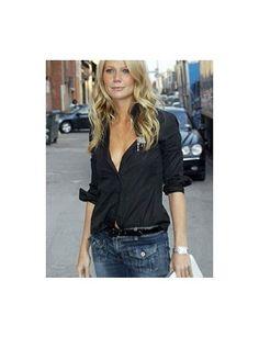 """Gwyneth Paltrow in the Blue Cult """"Gwyneth"""" jeans.  Iconic GP style."""