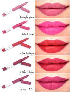 Maybelline New York Official Site Lipstick Swatches, Makeup Swatches, Lipstick Colors, Lip Colors, Matte Lipstick, Lipsticks, Maybelline Superstay, Maybelline Eyeshadow, Eyeshadow Palette