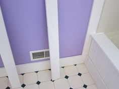 bathroom wainscoting DIY
