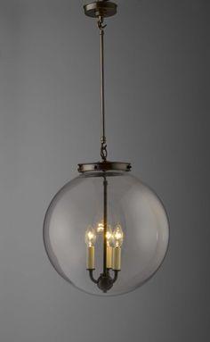 Hector Glass Globe, large | Chandeliers & Pendants | Hector Finch Lighting